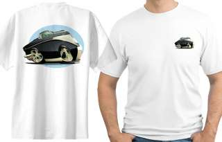 1957 Bel Air Muscle Car Cartoon Tshirt #6641 Chevy belair GM NWT
