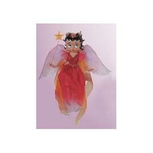 6 Betty Boop Angel In Rose Dress Christmas Ornament #8097