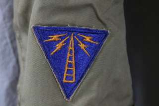L22 US ARMY AIR FORCE, SERGEANT FIRST CLASS FIELD JACKET W MARS + UNIT