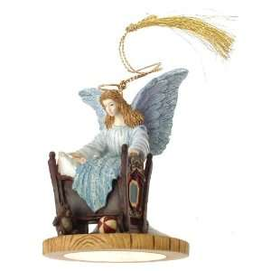 Sleep Someone to Watch Over Me guardian angel ornament   F446 Home
