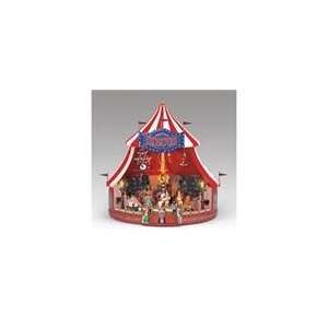 Mr. Christmas Worlds Fair Animated Musical Big Top Circus