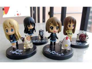 on Mio Akiyama anime mini cute figures set of 10 pcs