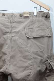 RALPH LAUREN RRL CARGO PANTS BROWN DOUBLE RL BLACK PURPLE LABEL 34X34