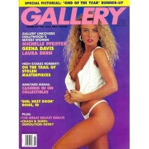 Magazine March 1992 Geena Davis, Michelle Pfeifer Gallery Books