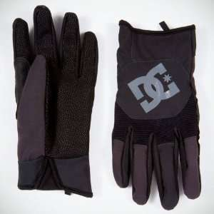DC Ventron Mens Snowboard Gloves (Black) Size Small