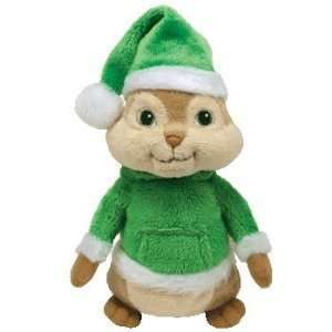 Beanie Baby   THEODORE with Holiday Hat (Alvin & the Chipmunks): Baby