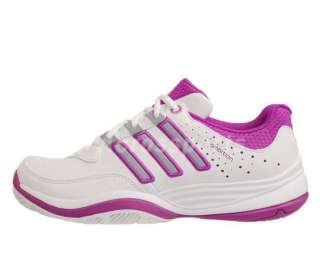 Adidas Ambition VII Stripes W White Purple New 2012 Womens Tennis