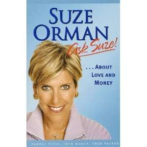 Ask Suze About Love and Money suze orman 9781594489624