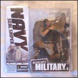 for McFarlane Toys 6 Military Series 4   Navy Seal Sniper Caucasian