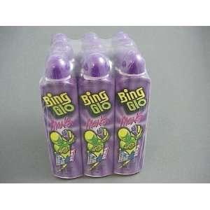 12 Purple Bing Glo Markers / Bingo Daubers Sports