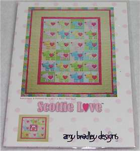 Amy Bradley Designs   Scottie Love Twin Quilt Pattern