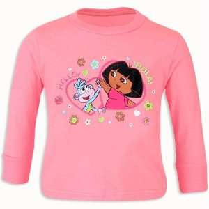 Dora and Boots Cotton Shirt with Glitter Size 6: Everything Else