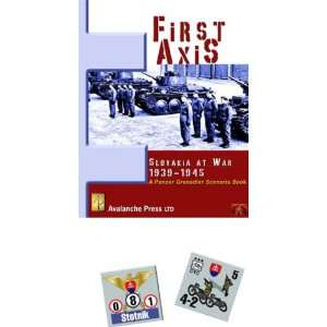 Panzer Grenadier First Axis Avalanche Press Books