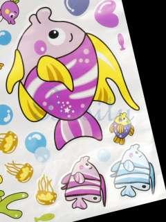 Kiss Decor Mural Art Vinyl Wall Decal Sticker Cartoon Coral Kids Favor