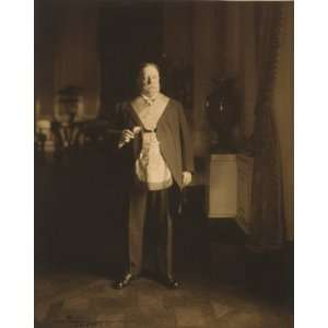 c1911. William Howard Taft, full length portrait, standing