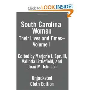 Julian Spruill, Valinda W. Littlefield, Joan Marie Johnson: Books