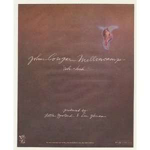 1983 John Cougar Mellencamp Uh huh PolyGram Records Print