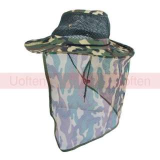 Unisex Military Army Jungle Mesh Fishing Camouflage Net Cowbooy Hat