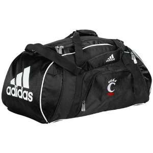 adidas Cincinnati Bearcats Black Team Logo Gym Duffel Bag