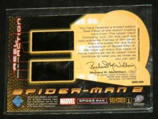 SPIDER Man 2 REEL Piece OF The ACTION Limited 2004 CARD
