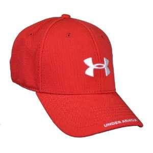 Mens Flex Fit Team Hat Cap in True Red Size Large