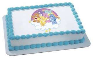 Care Bears Tummies~ Edible Image Icing Cake Topper ~ !!!