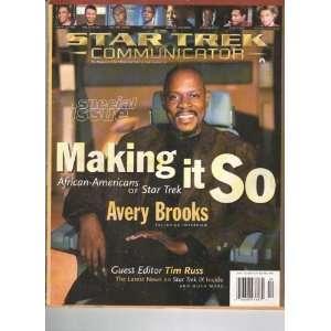 Star Trek Communicator Fan Club Magazine # 116, 1998 star trek Books