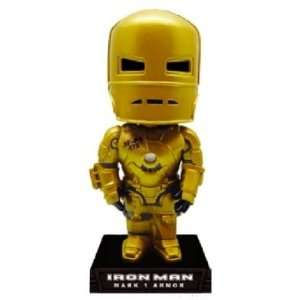 Bobble Head Gold Iron Man Mark I European Exclusive 18 Toys & Games