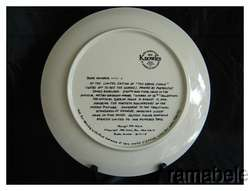 Grand Finale Wizard of Oz James Auckland Knowles China Plate Mayer