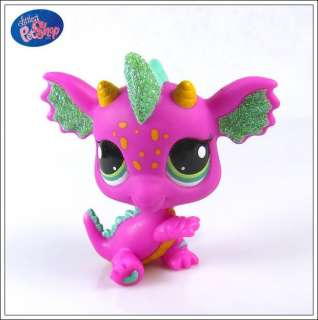 Rare Littlest Pet Shop LPS Girl Toy Dragon Figures Child Girl Xmas