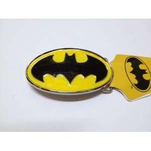 Batman Black Bat & Yellow Oval Finishing Belt Buckle.