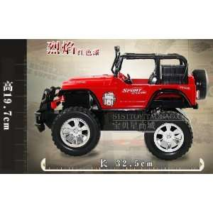 gift the jeep off road vehicles remote control car 2pcs: Toys & Games
