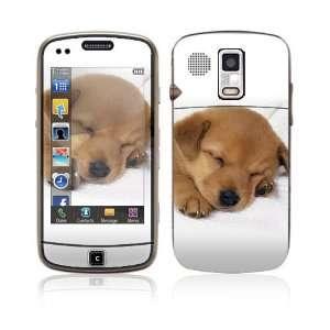 Samsung Rogue U960 Decal Vinyl Skin   Animal Sleeping