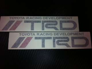 These are Black/Red x 2 racing sticker for your hot wheel