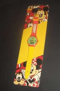 Vintage Disney Mickey Mouse Watches GOOFY Old Shop Stock