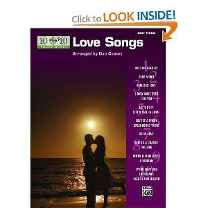 10 for 10 Sheet Music Love Songs Easy Piano Solos