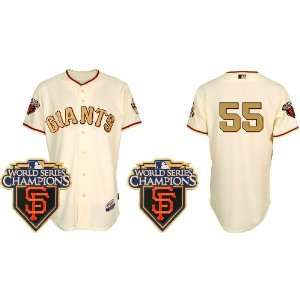 Kids San Francisco Giants 55# Lincecum Cream Gold 2011 Mlb
