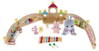 New Sylvanian Families house Baby Carole N Playpen set