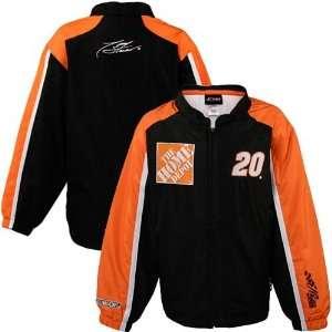 Tony Stewart Youth Black Track Full Zip Jacket Sports