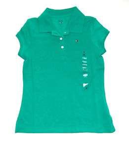 Tommy Hilfiger Girls Classic Short Sleeve Shirt M 8 10