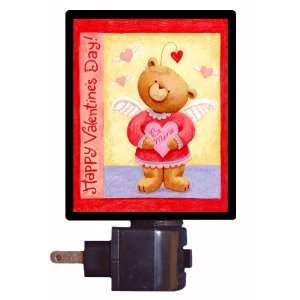 Valentines Day Night Light   Valentine Bear
