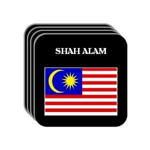 Malaysia   SHAH ALAM Set of 4 Mini Mousepad Coasters