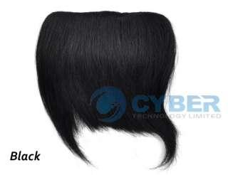 Fashion Clip On Bang Fringe Ladys Human Hair Extension New