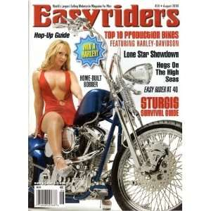 Easyriders Magazine August 2009 Top 10 Production Bikes