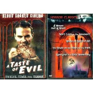 Of Evil & Horror Classics   2 Seperate Horror DVD Sets: Movies & TV