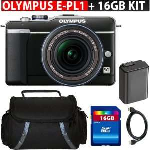 Olympus PEN E PL1 12.3MP Live MOS Micro Four Thirds Interchangeable