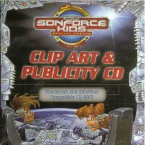 Clip Art & Publicity CD ROM (Sonforce Kids Special Agents