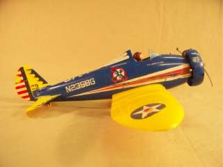 Pursuit Plane w/Throttle 049 Engine Control Line Model Airplane