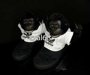 Jeremy Scott JS Gorilla V24424 Panda Bear Denim Flag Womens & Mens FSR