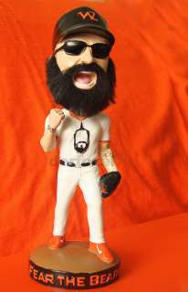BRIAN WILSON FEAR THE BEARD SAN FRANCISCO GIANTS BOBBLEHEAD